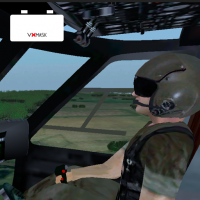 Store MVR product icon: Helicopter VR